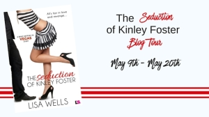The Seduction of Kinley Foster blog tour banner