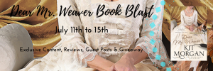 Dear Mr. Weaver Book Blast Banner